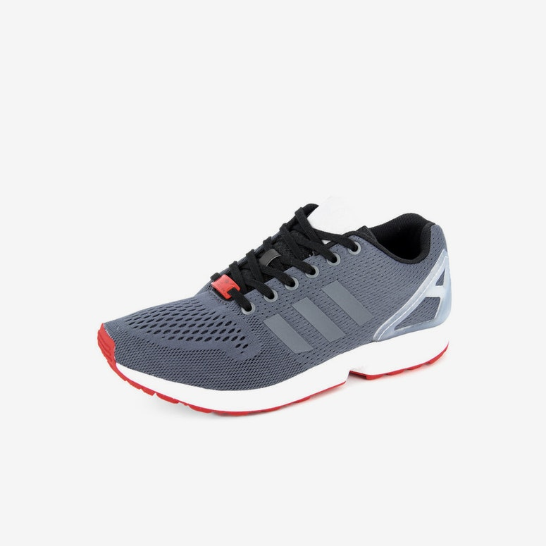 ZX Flux Charcoal/white