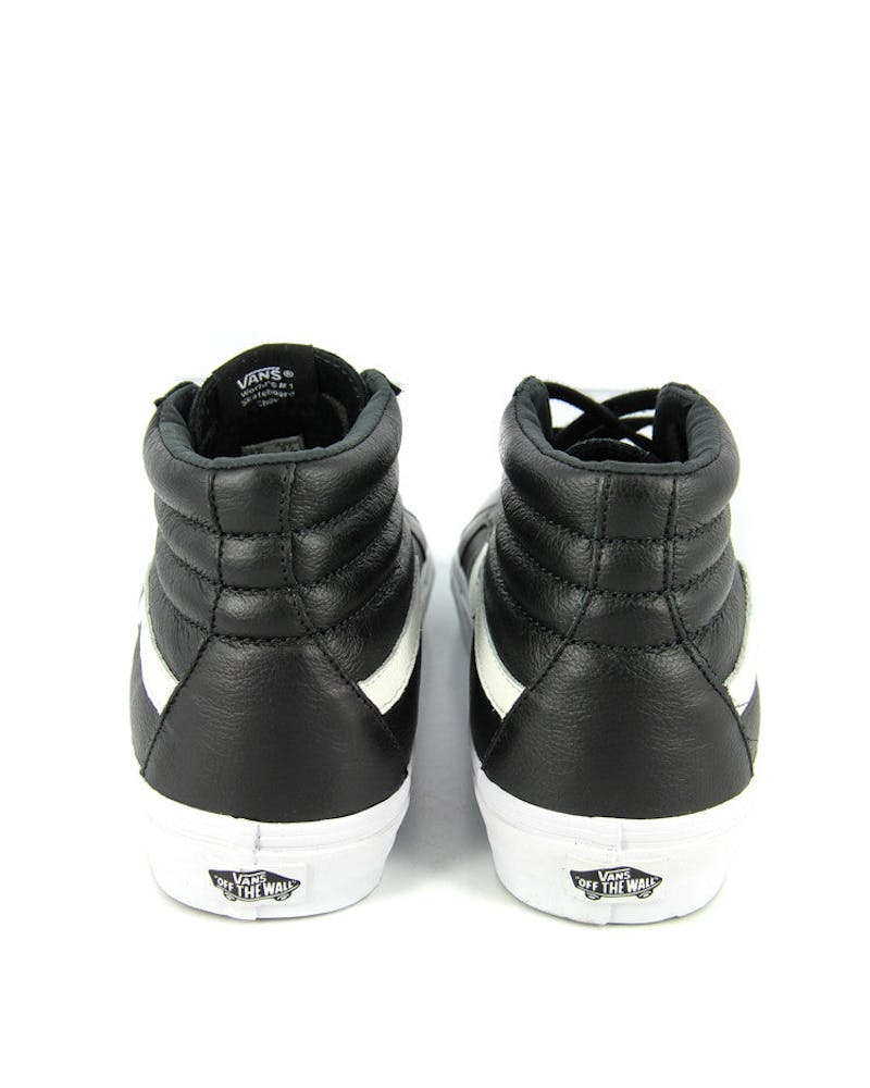 Sk8 HI Reissue Premium Leather Black/white