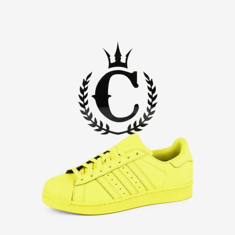 af91e7c653a Adidas Originals Superstar Pharrell Yellow – Culture Kings