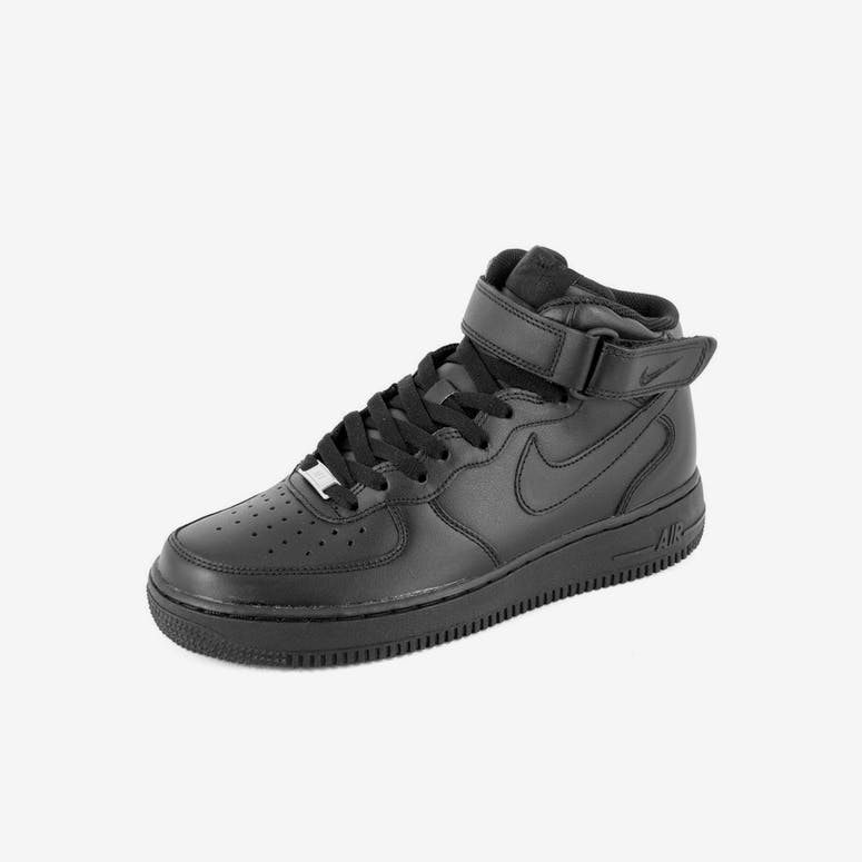 0f0db9db7a34 Nike Air Force 1 Mid 07 Black black bla – Culture Kings