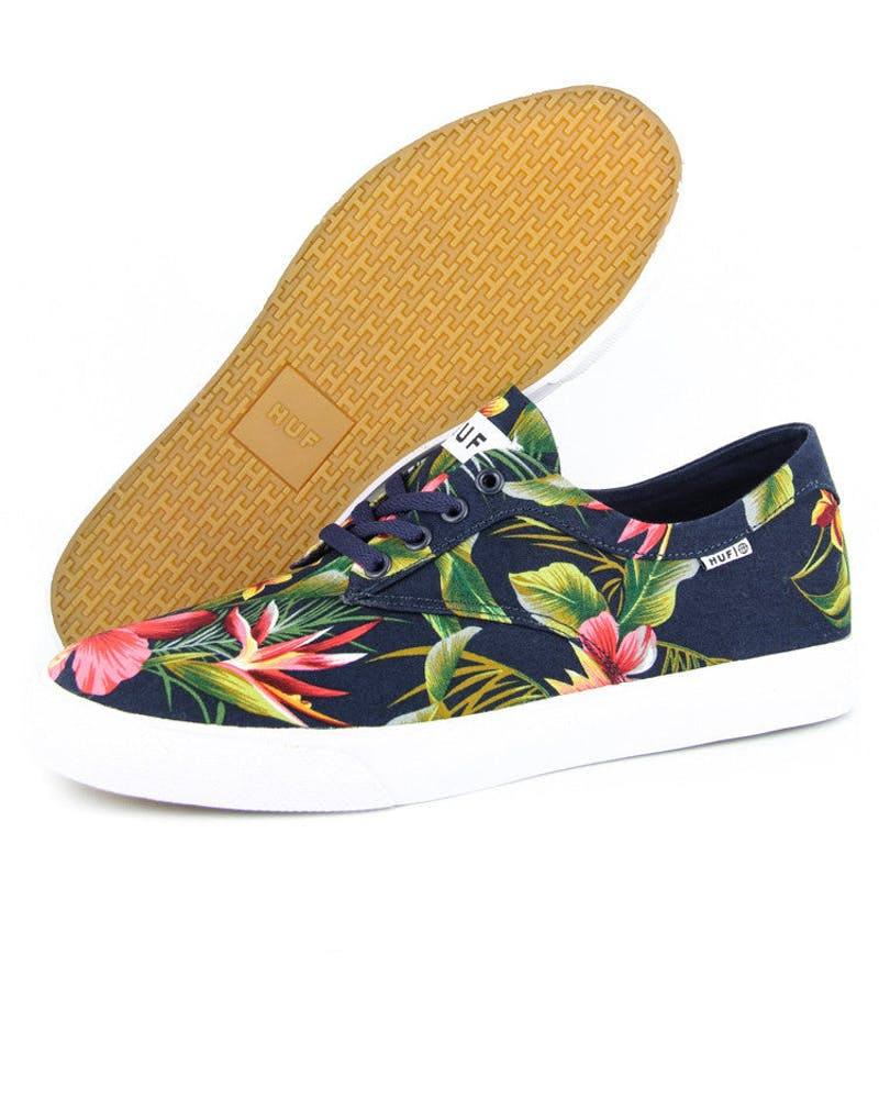 Sutter Low-top 2 Navy/floral