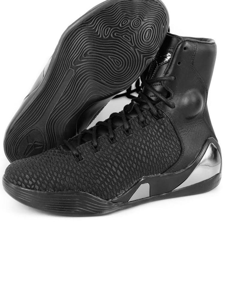 80af3bac4e4fd Kobe IX High Krm Ext QS Black/black
