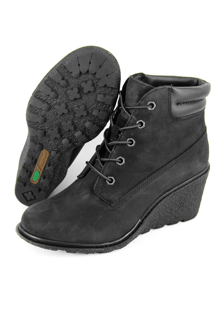 New Collection Timberland Black Nubuck Women's Amston 6 Inch