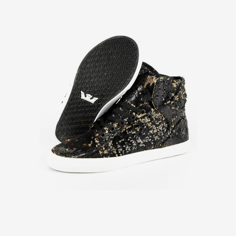 Womens Skytop Black/gold/whit