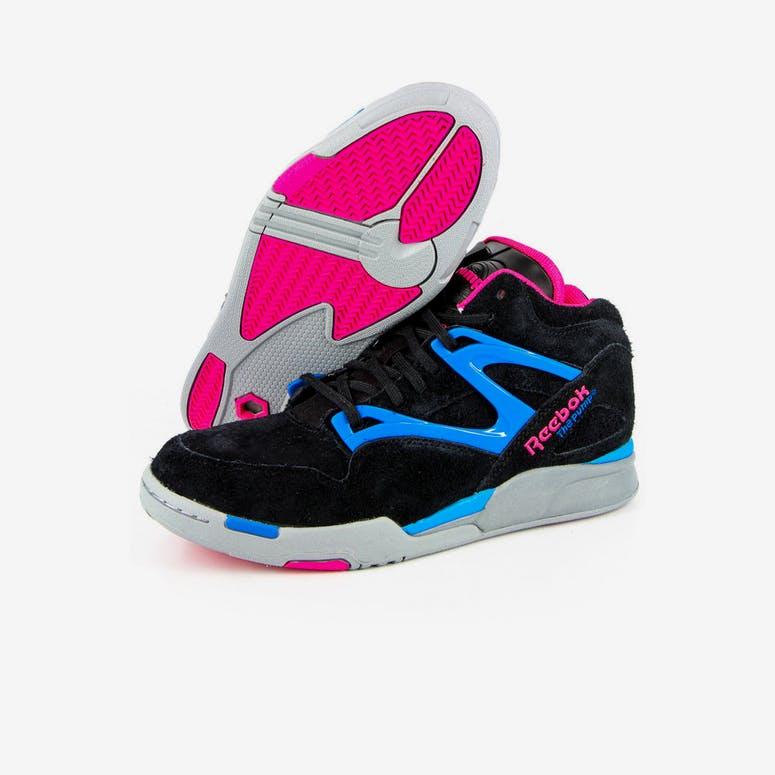 Reebok Pump Omni Lite Black pink blue – Culture Kings 7be4f0a7a