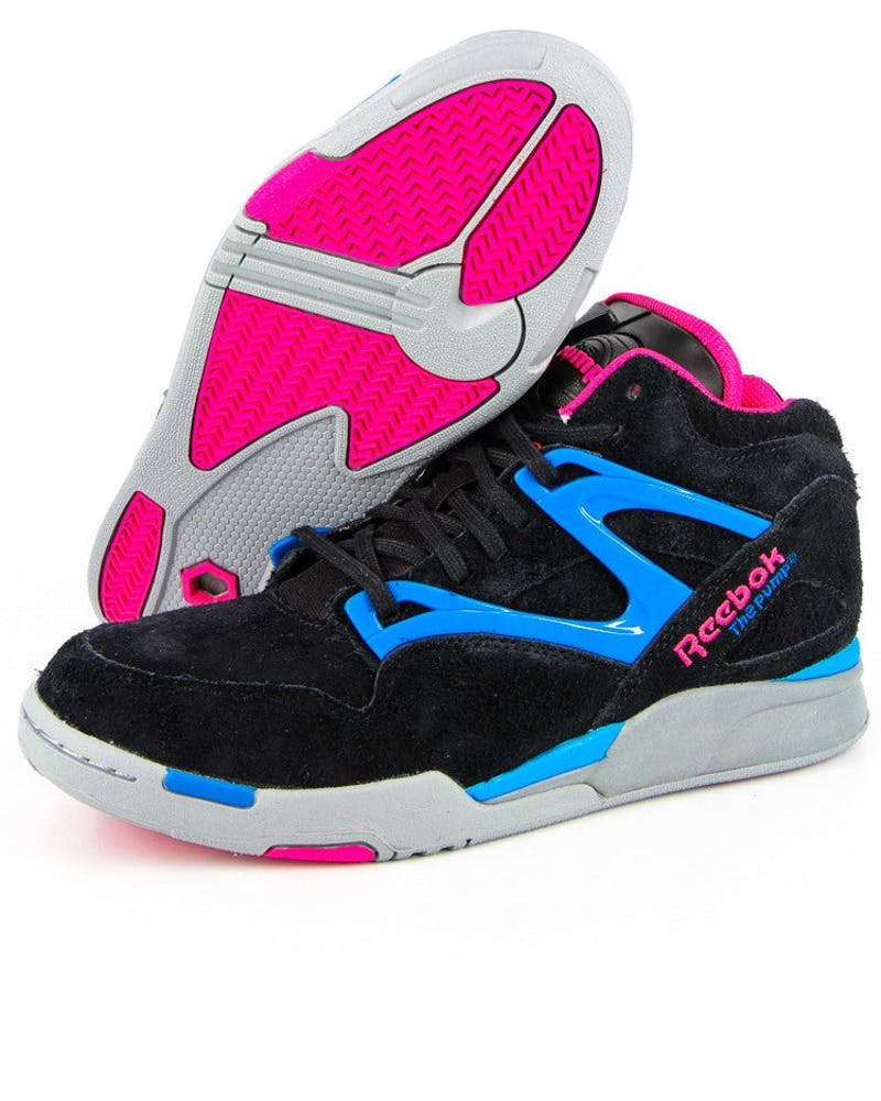 Pump Omni Lite Black/pink/blue