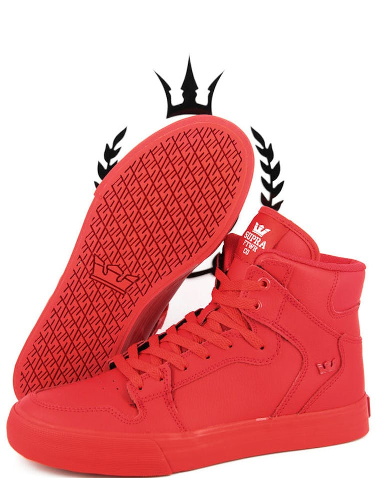 845396bd4c Supra Vaider Red/red – Culture Kings