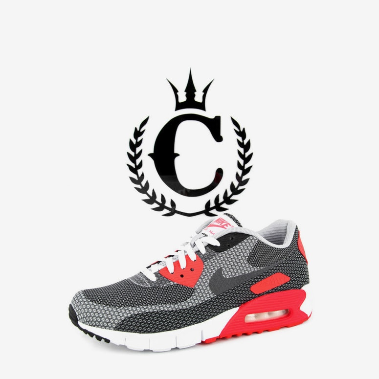 f4b131d18dfc Nike Air Max 90 Jacquard White grey red – Culture Kings