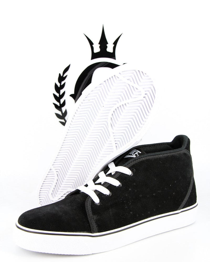 Toki Mids Leather Black