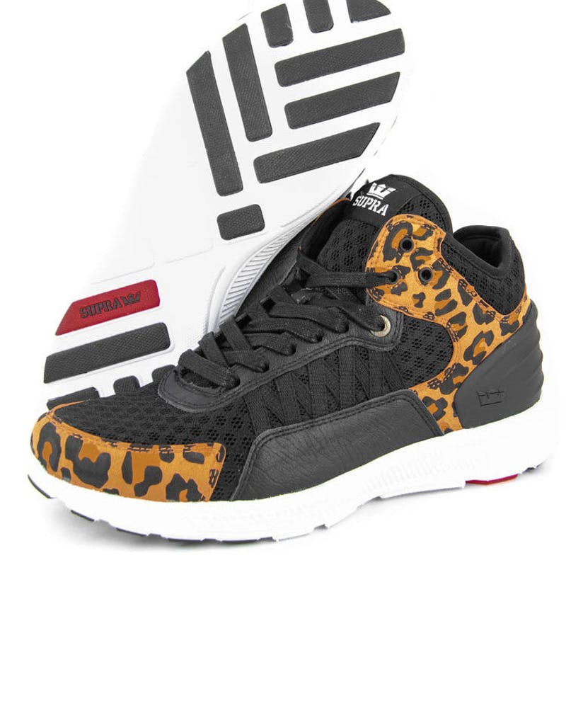 Owen Mid Black/cheetah