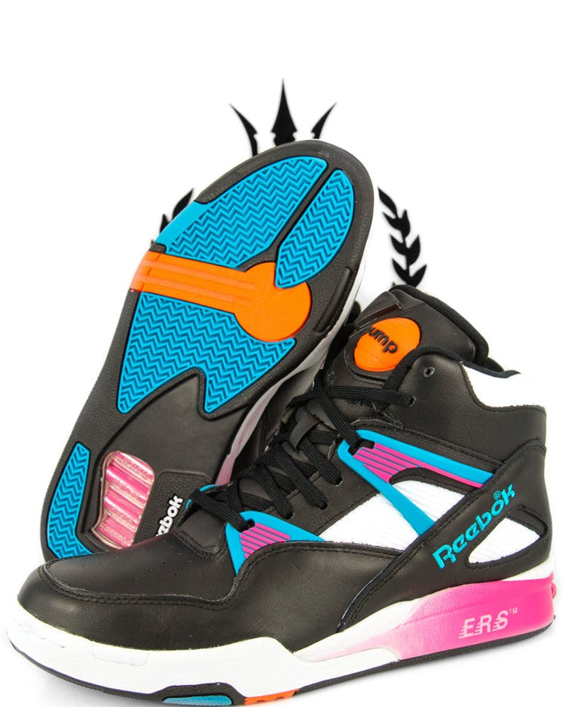 Pump Omni Zone Retro Black/pink/blue