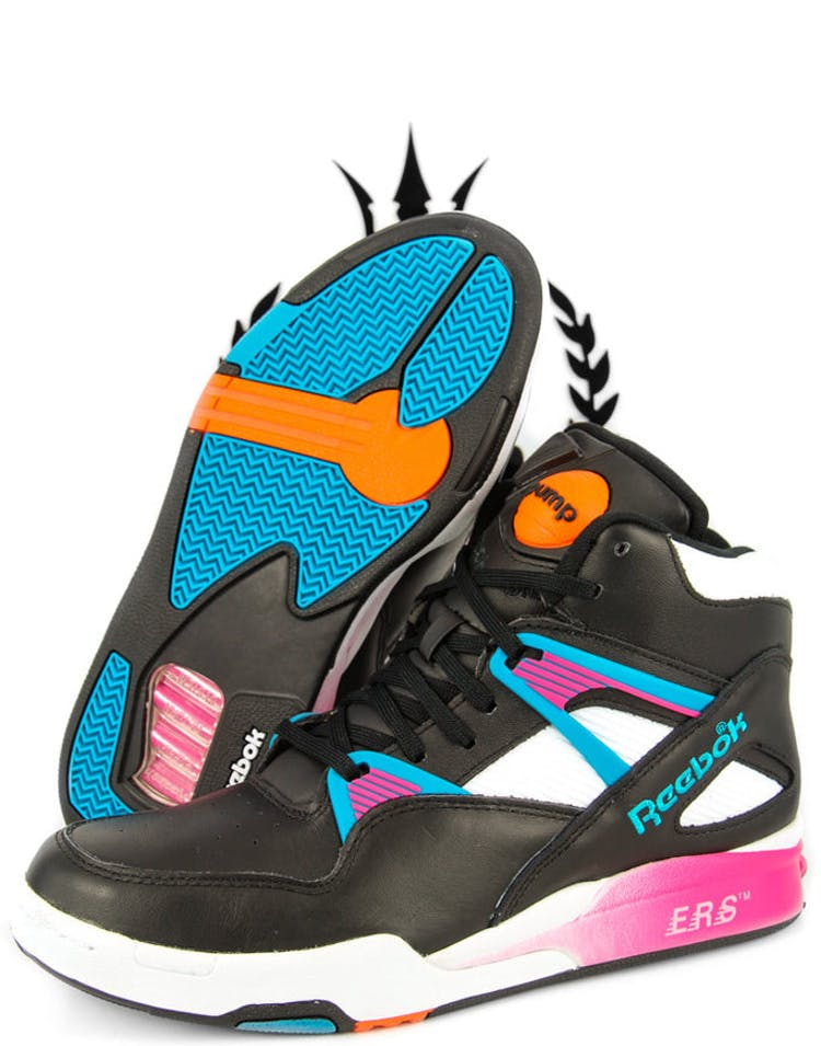 a8f790c286a Reebok Pump Omni Zone Retro Black pink blue – Culture Kings