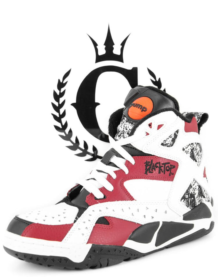 the latest f090b 9adc9 Reebok Black Top Battlegrounds White black red – Culture Kings