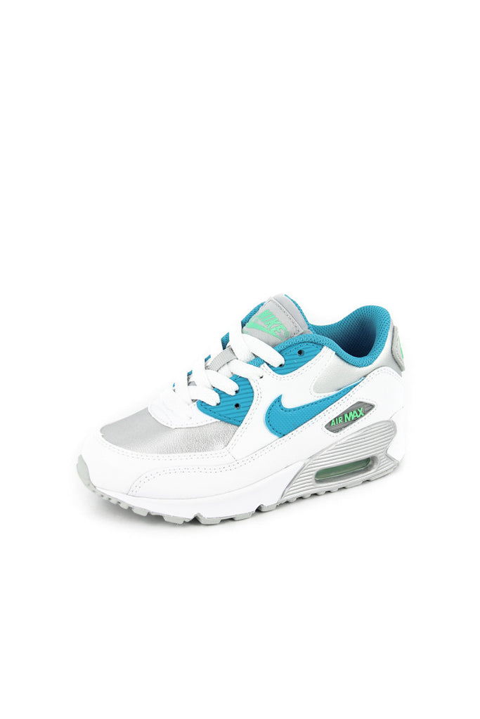 Air Max 90 Ltr (ps) Whitebluesilv
