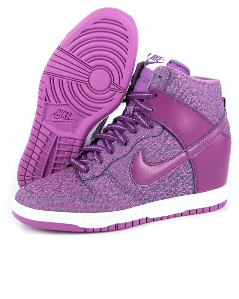 Womens Dunk Sky HI Txt Purple