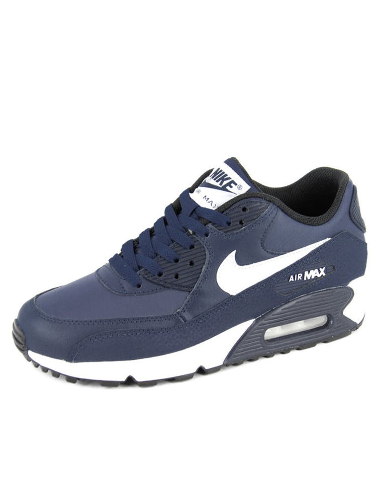 4eac6194d7a6 Nike Air Max 90 Ltr (gs) Navy white blac – Culture Kings