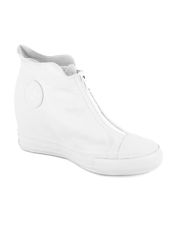 Womens CT Lux Leather White/white/whi