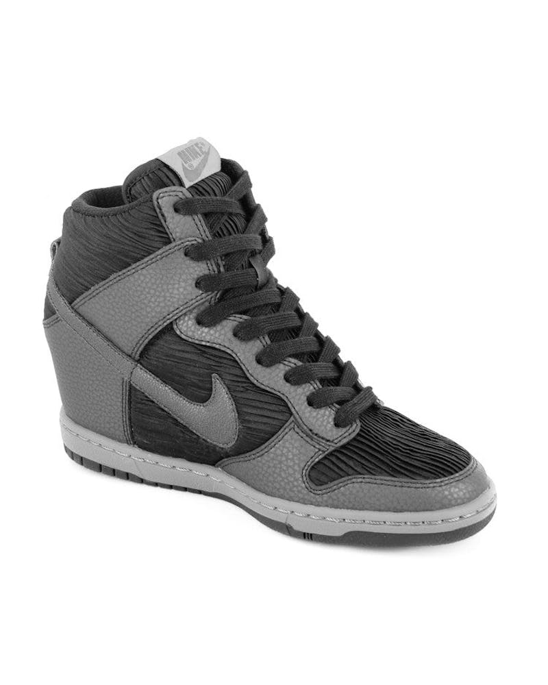Womens Dunk Sky HI Black/black/gre