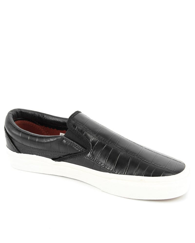 Classic Slip-on Croc Leather Black
