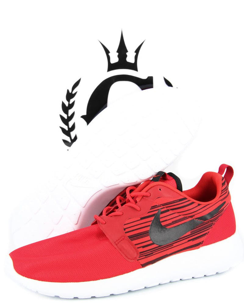 Nike Roshe Run Hyp Red/black