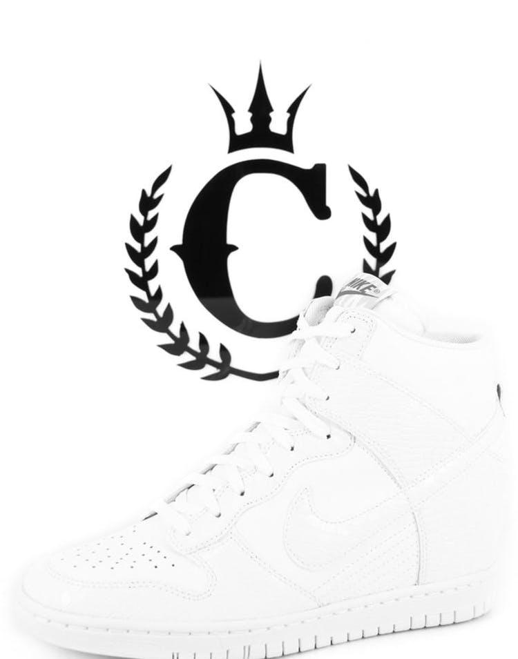 newest 4d888 1e3be Nike Womens Dunk Sky HI White – Culture Kings