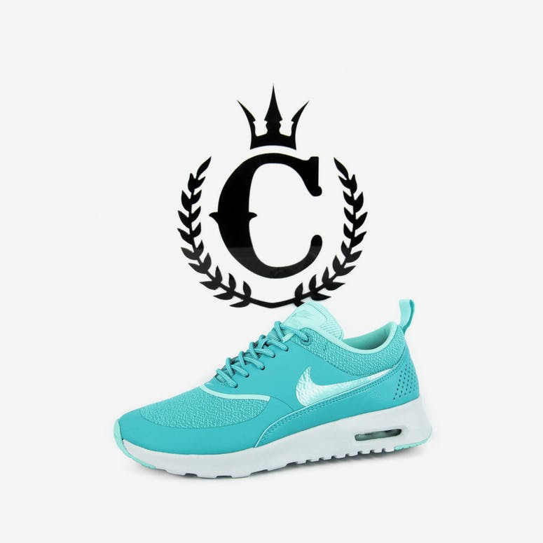 best website 02850 e8da0 Nike Womens Air Max Thea Turquoise grey – Culture Kings