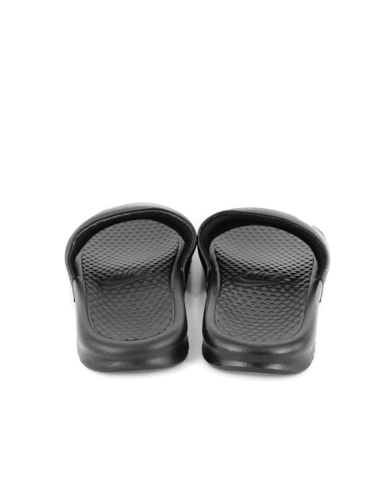 Women's Benassi Swoosh Black/white