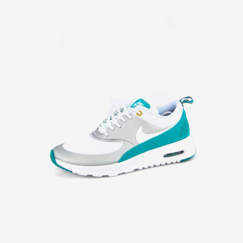 Womens Air Max 1 Thea Silver/white/te