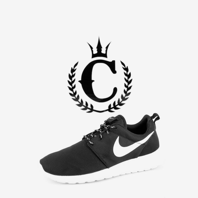 low priced ce888 75a2c Nike Womens Roshe One Black white – Culture Kings
