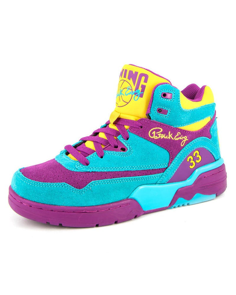 Guard Hightop Purple/blue/yel