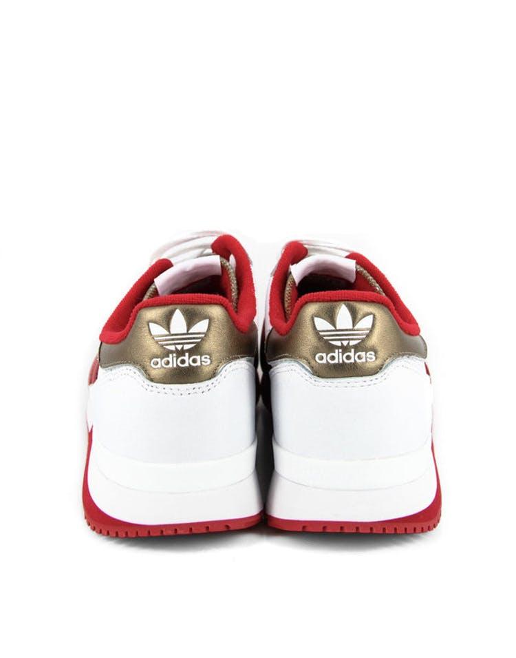 fdde92b50 Adidas Originals ZX 500 OG Nigo White red gold – Culture Kings