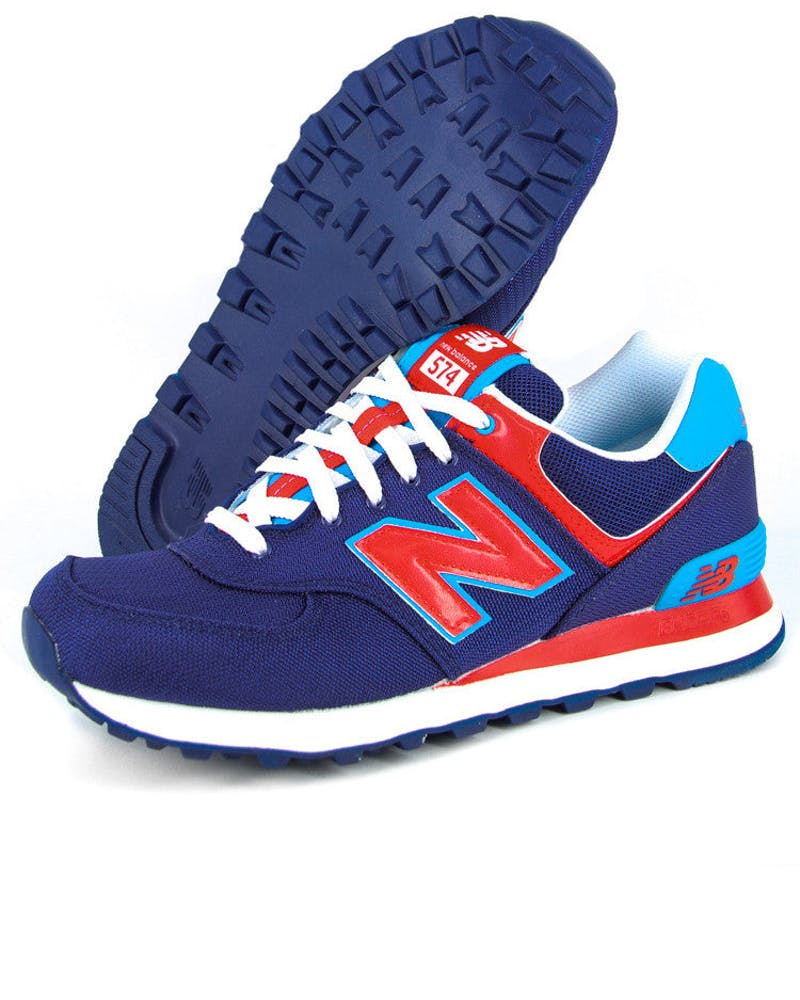 NB 574 Traditionals Blue/red/white