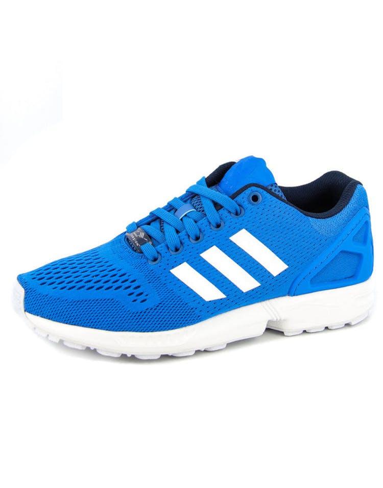 df1e1e8f0 Adidas Originals ZX Flux Blue white blac – Culture Kings