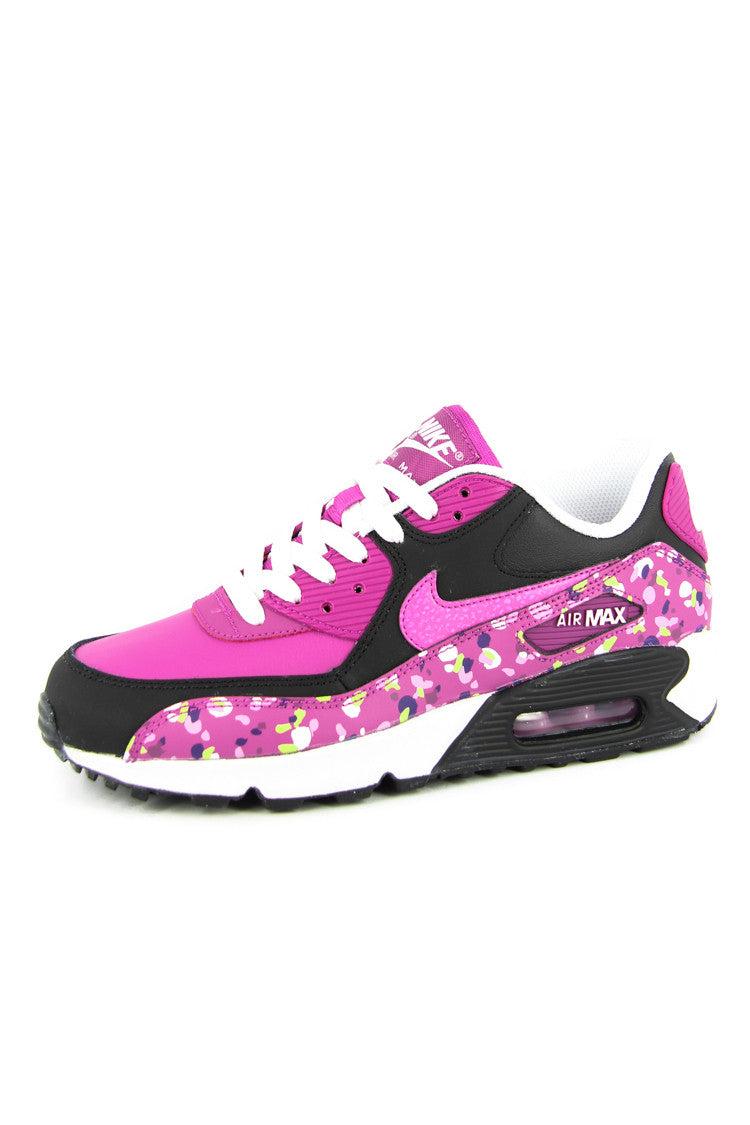 air max 90 pink black