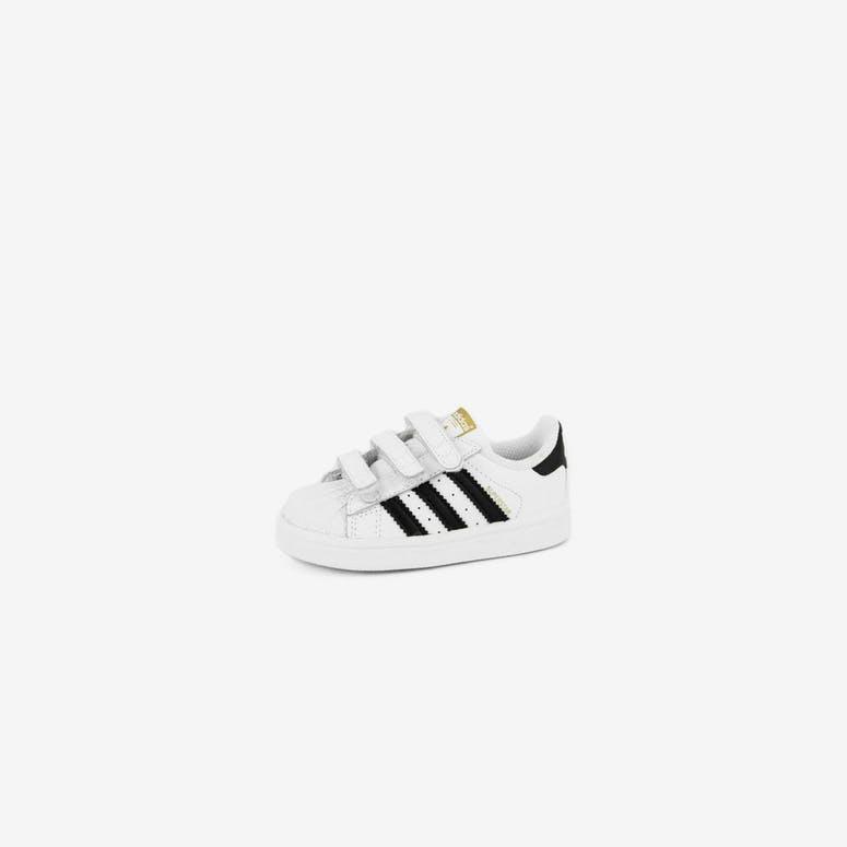fe2e761a986093 Adidas Originals Superstar Foundation Kids White black whi – Culture Kings