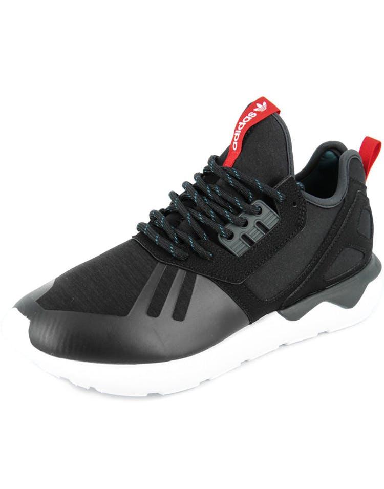 buy popular fde13 1f2f9 Adidas Originals Tubular Runner Weave Black white red – Culture Kings