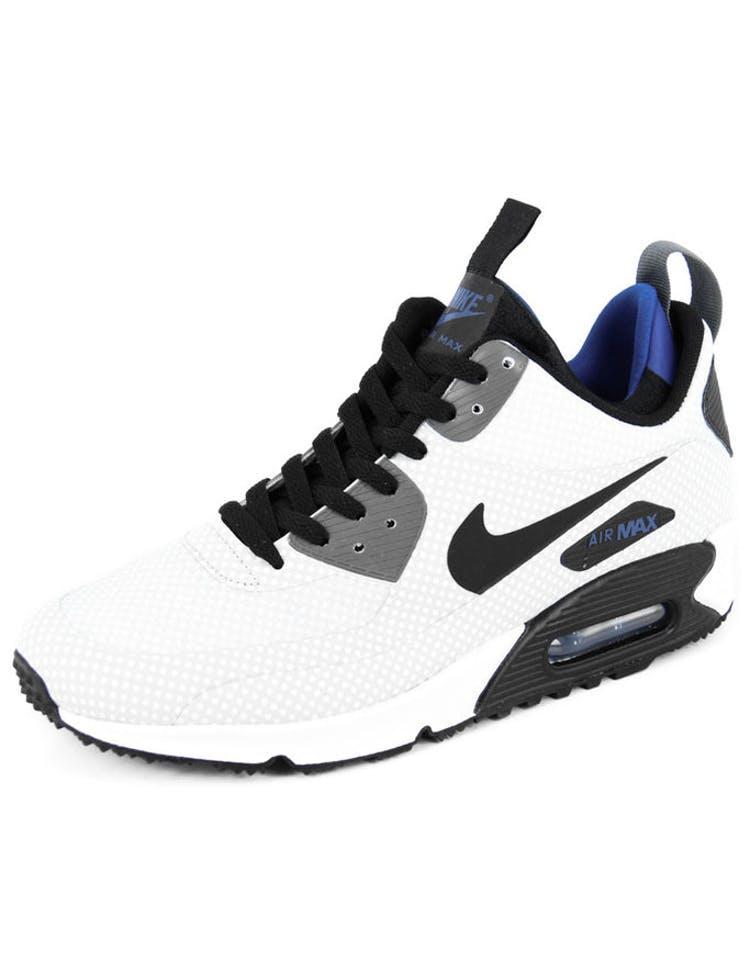 best service 3ed7a e6c75 Nike Air Max 90 Mid Winter Print Silver black ro – Culture Kings