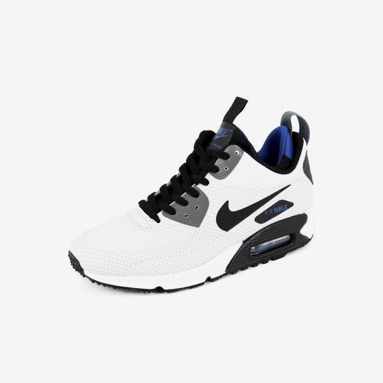 buy online 87030 11322 Nike Air Max 90 Mid Winter Print Silverblackro – Culture Kin
