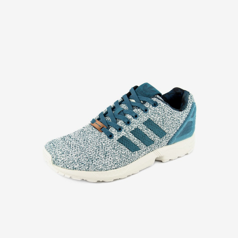 62eccceb5 Adidas Originals ZX Flux Grey teal white – Culture Kings