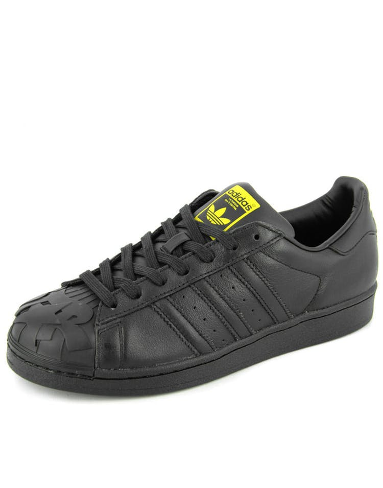 hot sale online e65ce 6940e Adidas Originals Superstar Pharrell TJ Black yellow – Culture Kings