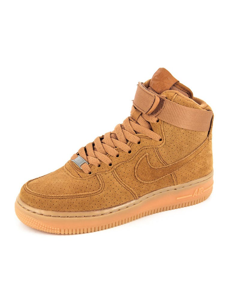 reputable site 7255f 7df61 Nike Womens Air Force 1 HI Suede Tawny tawny – Culture Kings