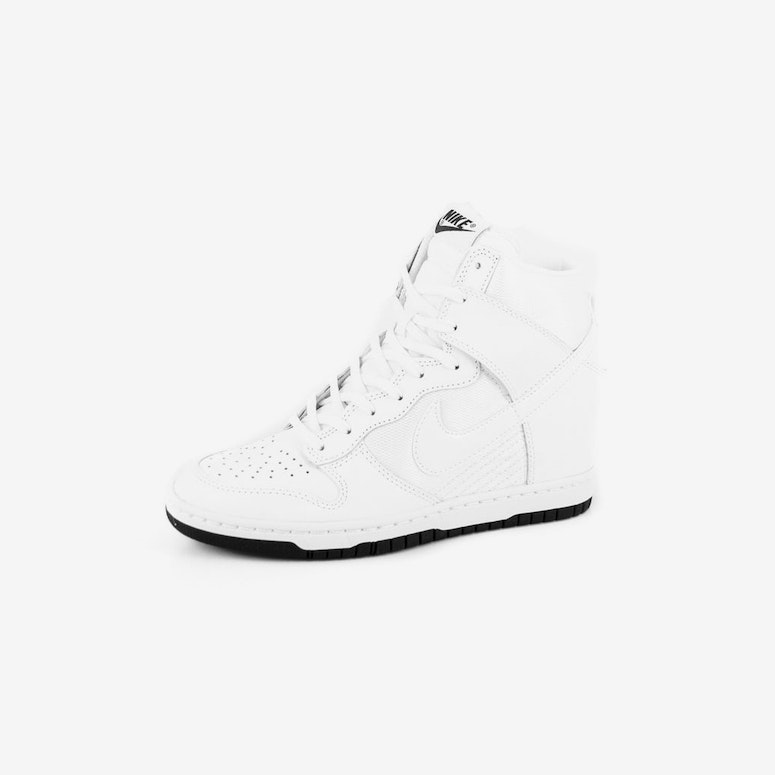 f86b81255e91 Nike Womens Dunk Sky HI Essent White white bla – Culture Kings