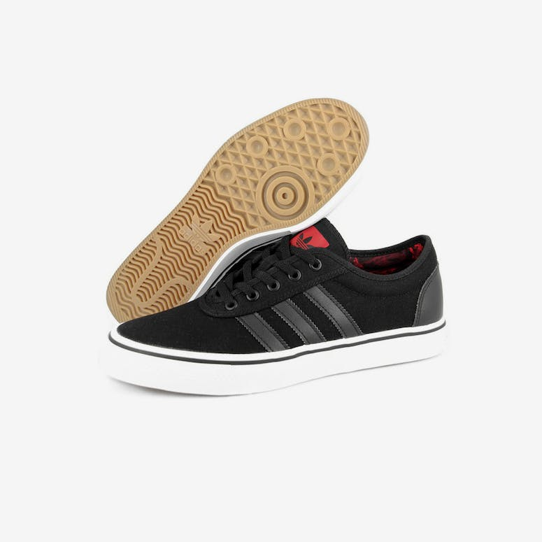 Adidas Originals Adi-ease Black black red – Culture Kings 9a1627446
