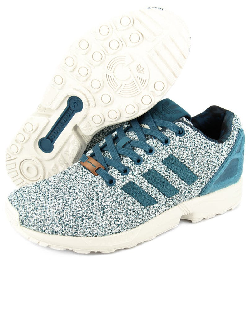 ZX Flux Grey/teal/white