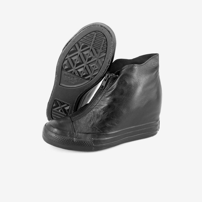 Womens CT Lux Leather Black/black/bla