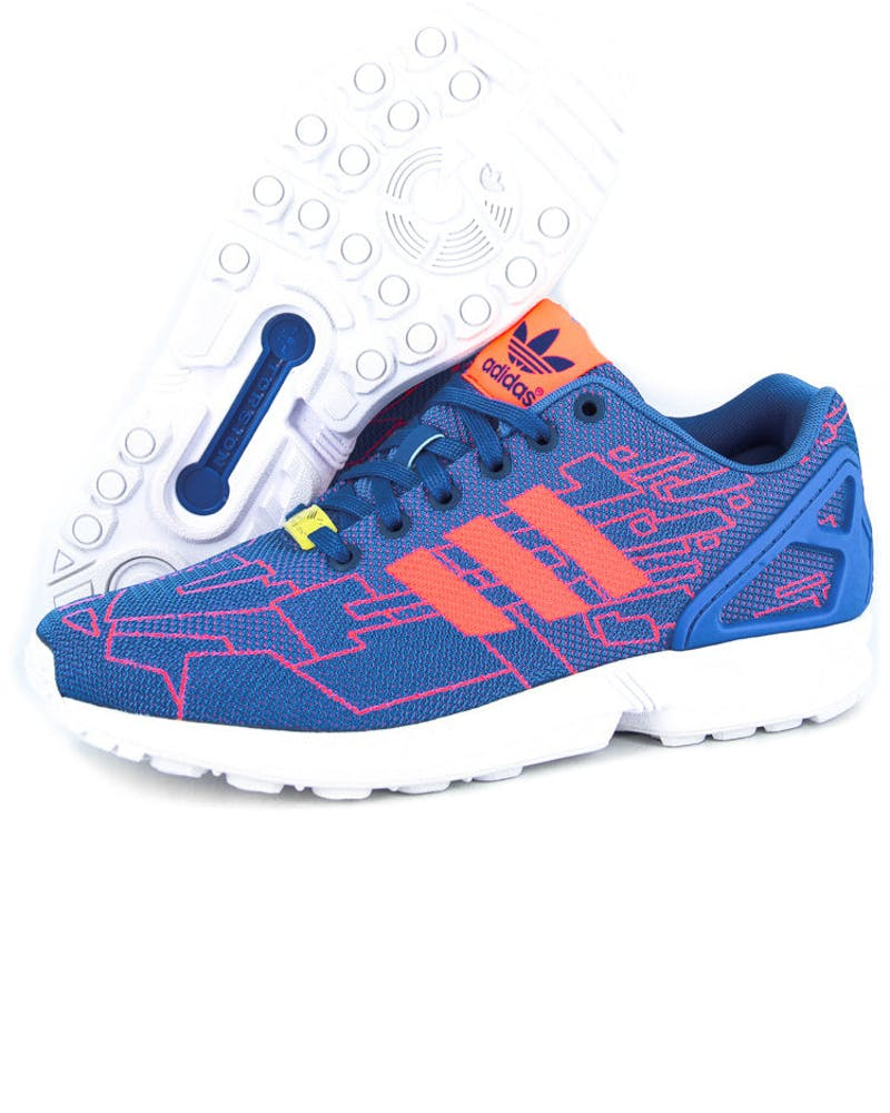 ZX Flux Weave Blue/red/white