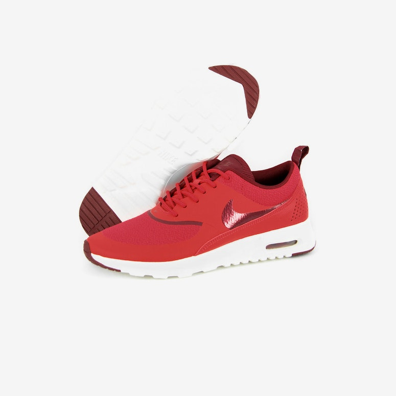 Womens Air Max Thea Red/red