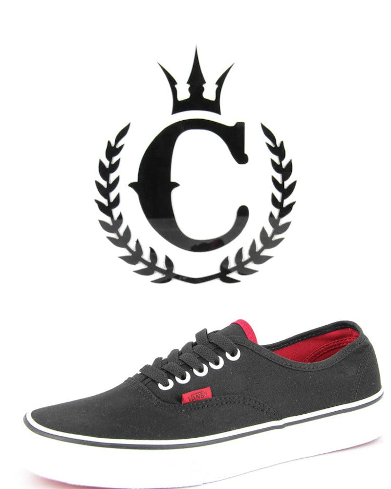Pop Authentic Black/red