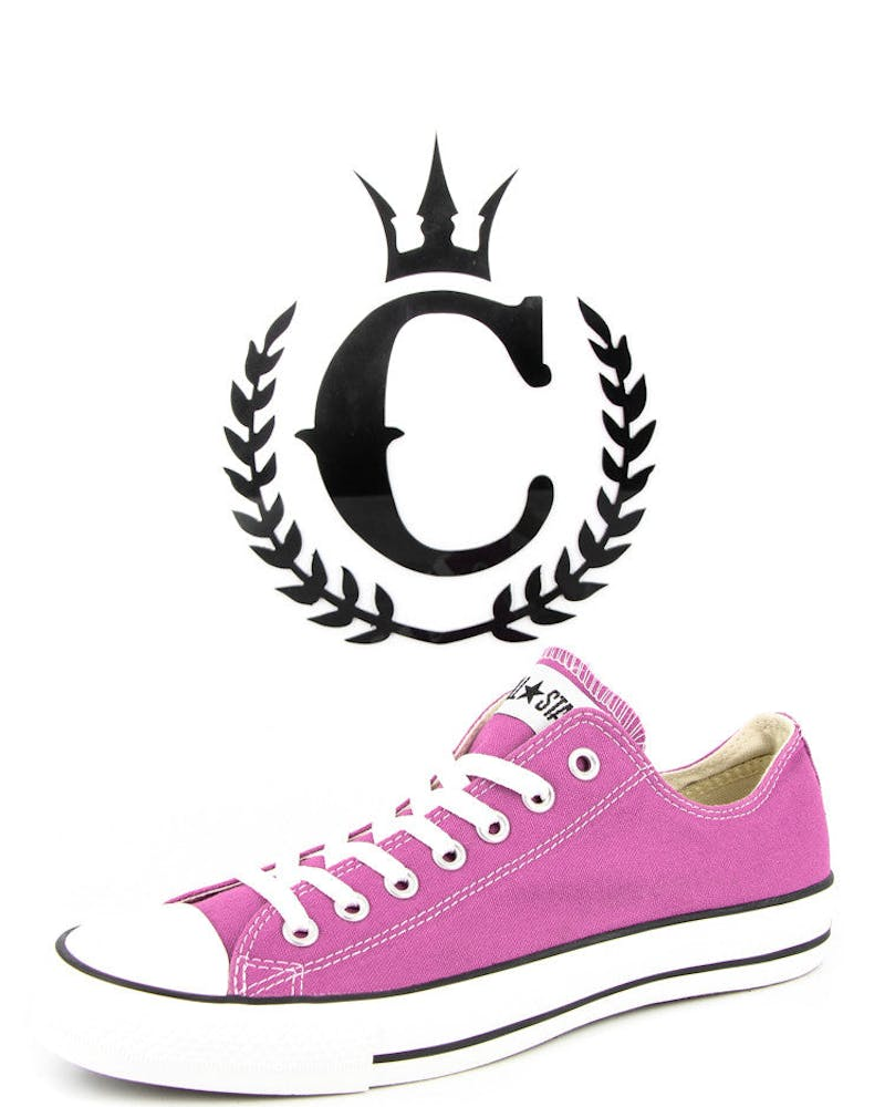 C.taylor All Stars Low Pink
