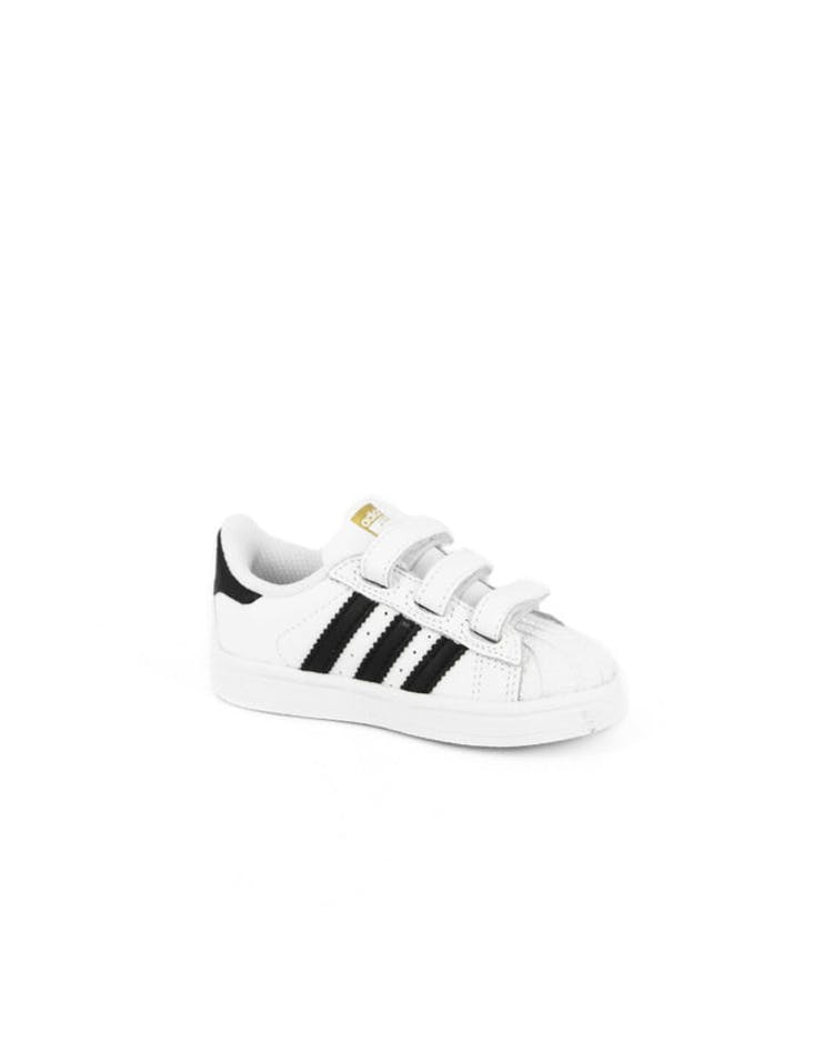 online store f9336 bb53d Superstar Foundation Kids White/black/whi